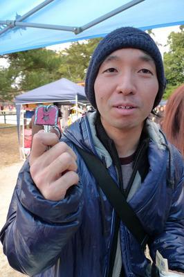 おすぎさん&キーキャップ.JPG